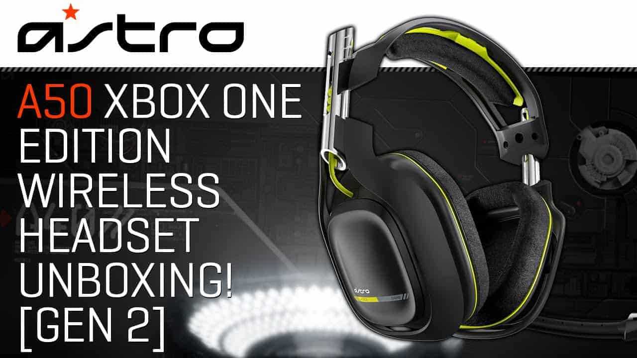 A50 Xbox One Edition Wireless Headset
